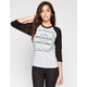 YOUNG & RECKLESS Seal Of Approval Womens Baseball Tee