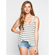 VOLCOM Lived In Rib Womens Tank