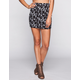 FULL TILT Ethnic Print Bodycon Skirt