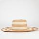 Striped Womens Floppy Hat