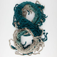 Ombre Fringe Infinity Scarf