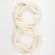 Mixed Weave Infinity Scarf