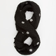 Scattered Flower Infinity Scarf