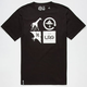 LRG Logo Cluster Mens T-Shirt