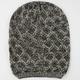 Diamond Knit Lurex Beanie