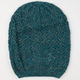 Diamond Knit Lurex Beanie
