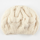 Chunky Cable Beret