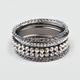 FULL TILT Rhinestone Chain Bracelet Set