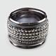 FULL TILT Facet Bangle Bracelet Set