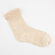 FULL TILT Pointelle Ruffled Womens Crew Socks