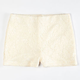 FULL TILT Girls Crochet Overlay Shorts