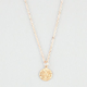 FULL TILT Dainty Disc Necklace