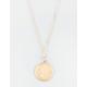 FULL TILT Dainty Love Medallion Necklace