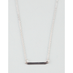 FULL TILT Dainty Bar Necklace