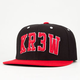 KR3W Varsity Mens Snapback Hat