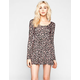 FULL TILT Ditsy Floral Print Skater Dress