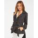 FULL TILT Womens Belted Trench Coat