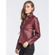 SEBBY Faux Leather Jacket