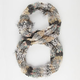 Mixed Media Infinity Scarf
