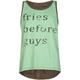 FULL TILT Fries Before Guys Girls Hi Low Tank