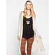 FULL TILT Open Stitch Womens Maxi Cardigan
