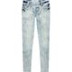 CELEBRITY PINK Cloud Wash Girls Denim Pull On Jeans