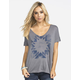 ROXY Geo World Cross Back Womens Tee
