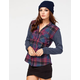 FULL TILT Womens Hooded Shirt