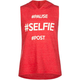 FULL TILT Selfie Girls Hooded Sleeveless Tee