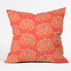 DENY DESIGNS Far Away Elephants Throw Pillow