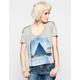 LIFE CLOTHING CO. Pyramid Sky Womens Boxy Tee