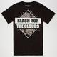 CIVIL Cloud Reachers Mens T-Shirt