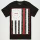 CIVIL Rebel Flag Mens T-Shirt
