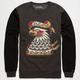 RVCA Krak Eagle Mens Sweatshirt