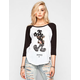 NEFF Disney Collection Swag Womens Baseball Tee