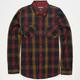 RVCA Warehouse Mens Flannel Shirt