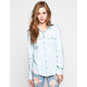 ALI & KRIS Womens Chambray Shirt