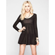 FULL TILT Tiered Babydoll Dress