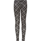 FULL TILT Diamond Plaid Print Girls Leggings