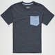 VOLCOM Twist Boys Pocket Tee