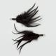 FULL TILT Feather Hair Clip Set