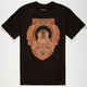 CALI'S FINEST Bear Shield Mens T-Shirt