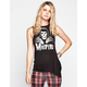 IRON FIST Misfits Crossed Hands Womens Muscle Tank