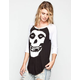 IRON FIST Misfits Fiend Womens Baseball Tee
