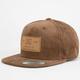 DC SHOES Facer Mens Corduroy Strapback Hat