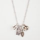 FULL TILT Fireball/Owl/Flower Charm Necklace