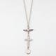 FULL TILT Bird/Cross/Drop Charm Necklace