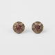 FULL TILT Starburst Medallion Stud Earrings