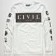 CIVIL Civil Box Mens T-Shirt