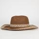 Ethnic Stripe Womens Cowboy Hat